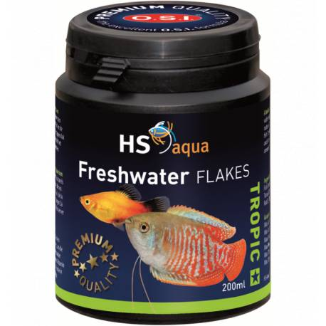 HS Aqua Freshwater Flakes 200 ml