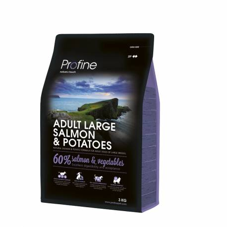 Profine Adult Large Breed Salmon and Potatoes 3kg