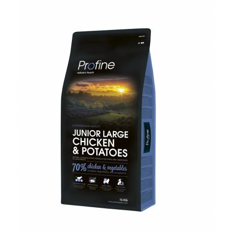Profine Junior Large Breed Chicken and Potatoes 15kg