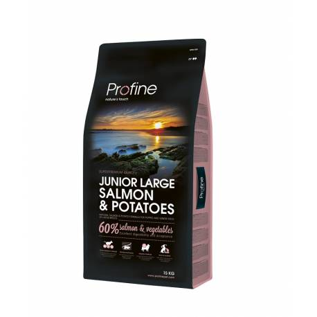 Profine Junior Large Breed Salmon and Potatoes 15kg