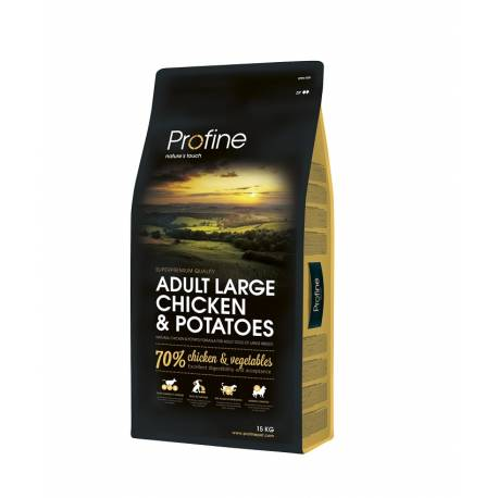 Profine Adult Large Breed Chicken and Potatoes 15kg