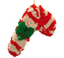 Christmas Candy Cane Pinata - with treats
