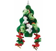 Chunky Wooden Christmas Tree