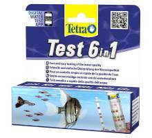 Tetra Test a 25 Teststroken 6 in 1 waterverbeteraar