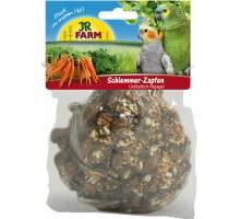 JR Farm grote parkiet en papegaai smakelijke kegel 195 gram