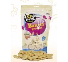 Lolo Pets Hondenkoekjes Seafood Biscuits Zalm350 gram