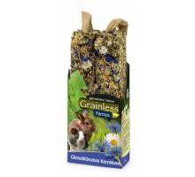 JR Farm Grainless Farmys madeliefjes en korenbloem 140 gram