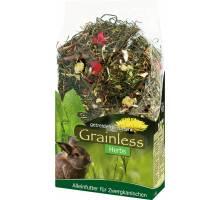 JR Farm Grainless Herbs voor dwergkonijnen 400 gram