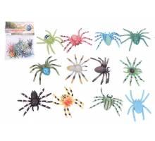 Spinnen in zak