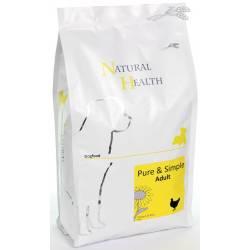 Natural Health Dog Chicken & Rice 2,5 kg