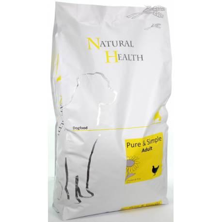 Natural Health Dog Chicken & Rice 7,5 kg