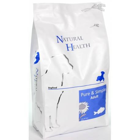 Natural Health Dog Fish & Rice 2,5 kg