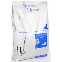 Natural Health Dog Fish & Rice 7,5 kg