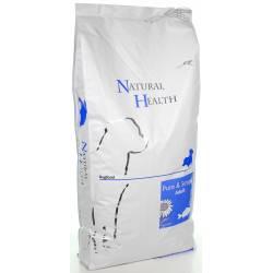 Natural Health Dog Fish & Rice 12,5 kg