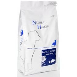Natural Health Dog Fish & Rice Large Bite 2,5 kg