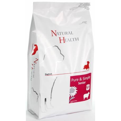 Natural Health Dog Lamb & Rice Senior 2 kg