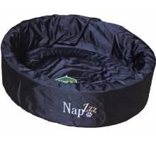 Napzzz Waterproof Hondenmand Rond Zwart - 50 CM