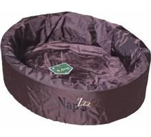 Napzzz Waterproof Hondenmand Rond Bruin - 50 CM