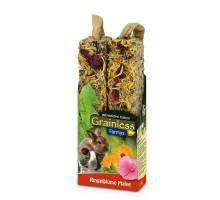 JR Farm Grainless Farmys goudsbloem en stokroos 140 gram