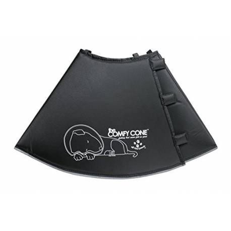 Comfy Cone hondenkap Zwart, S 14/24-30cm