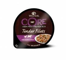 Wellness CORE Tender Filets chicken/beef/carrot/green bean 170 GR