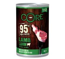 Wellness CORE can dog 95 lamb/pumpkin 400 GR
