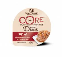 Wellness CORE Duos beef/chicken liver 79 GR