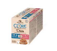 Wellness CORE Duos seafood selection 6-pack 79 GR
