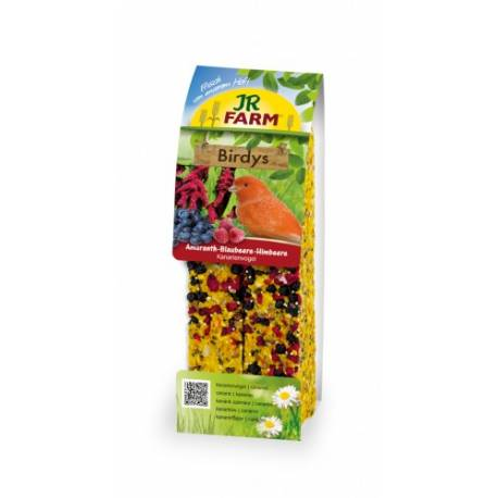 JR Farm Birdys kanarie amarant-blauwe bessen-frambozen 130 gram