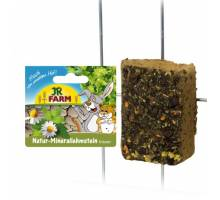 JR Farm knaagsteen van natuurlijk leem met kruiden 100 gram