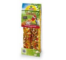JR Farm Birdys agapornide honing-oesterschelp-wortelen 260 gram