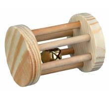 Trixie Speelrol, Knaagdieren, hout, ø 5 × 7 cm