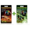 COMBI-DEAL Exo Terra Analoge Thermometer + Hygrometer