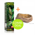 COMBI-DEAL Exo Terra Dripper Plant Large + Water Dish Large