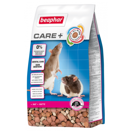 Beaphar care+ rat 250 gram