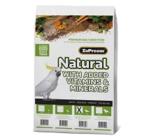 Zupreem Natural Diet M/L Parrots and Conures 9 kg