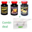 Combi-Deal Repashy Crested Gecko MRP, Mango en Banaan 85 gram + ProRep Jelly Pot Holder Double