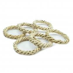 Back Zoo Nature Woven Rings - Pack of 6