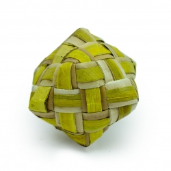 Back Zoo Nature Coloured Woven Cube