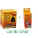 Combi-Deal Lucky Reptile Thermo Socket + Reflector Mini + Lucky Reptile Halogen sun Mini 20W