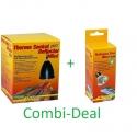 Combi-Deal Lucky Reptile Thermo Socket + Reflector Mini + Lucky Reptile Halogen sun Mini 35W