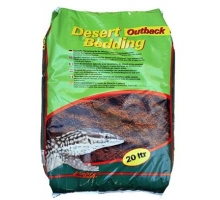 "Lucky Reptile Desert Bedding ""Outback Red"" 20 Liter"