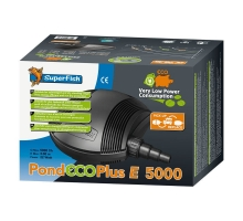 SuperFish Pond ECO Plus E 5000 - 22 Watt