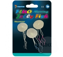 SuperFish Fluo Moving Jelly Fish 3 stuks