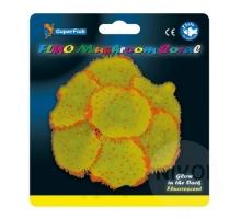 SuperFish Fluo Mushroom Coral Geel