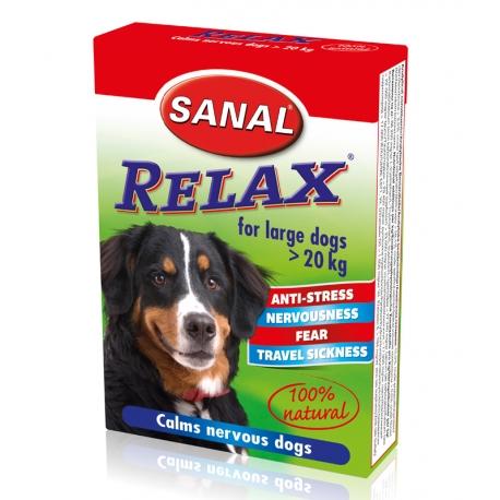 Sanal Relax voor Grote Honden - 15 tabletten