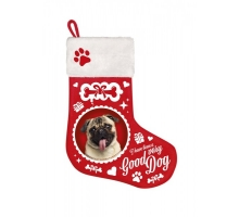 Kerst Stocking Pug