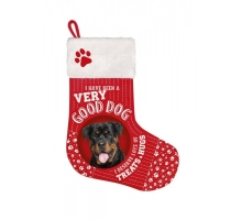 Kerst Stocking Rottweiler