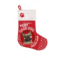 Kerst Stocking Franse Bulldog