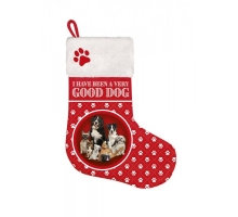 Kerst Stocking Hond Mix